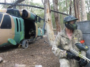 Paintball Black Hawk Helicopter Monarto Adelaide