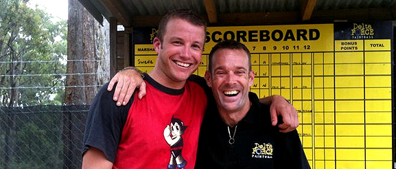 Celebrity Paintball Players - Luke Jacobz
